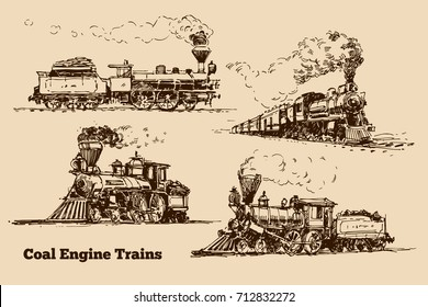 Coal Engine Train sketch