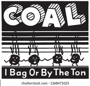 Coal  - Retro Ad Art Banner