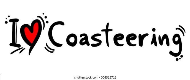 coasteering love