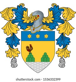 Coat of Arms of family Avallone