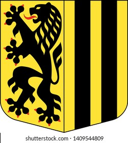 Coat of Arms of the German City of Dresden
