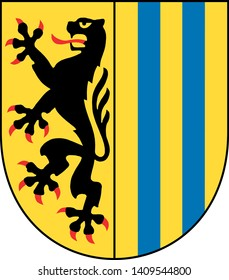 Coat of Arms of the German City of Leipzig