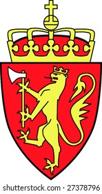 Coat of arms of the kingdom Norway