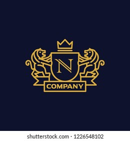 Coat of Arms Letter 'N' Company