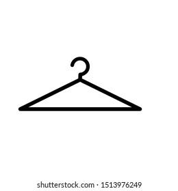 coat hanger logo in vector form