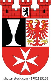 Coats of arms of the Berliner borough (bezirke) of Neukölln