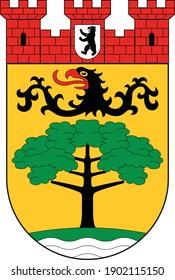 Coats of arms of the Berliner borough (bezirke) of Steglitz-Zehlendorf