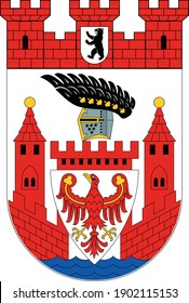 Coats of arms of the Berliner borough (bezirke) of Spandau