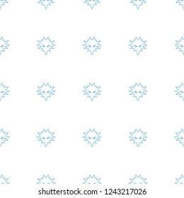 cobalt pattern repeat seamless on white background. Editable line cobalt icons from health collection. bacteria icon for web and mobile.