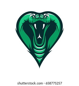 cobra logo images stock photos vectors shutterstock https www shutterstock com image vector cobra snake wild animal head mascot 658775257