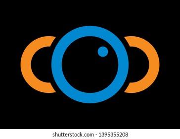 COC letter logo. COC logo