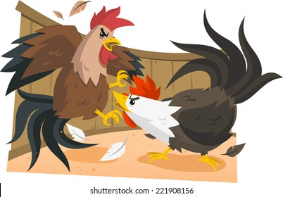 Cock Fight Images, Stock Photos & Vectors | Shutterstock