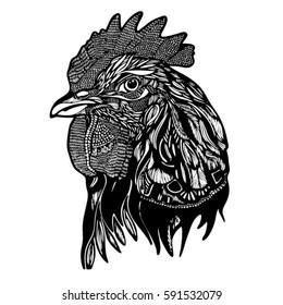 cock graphic illustration