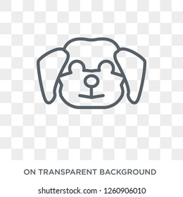 Cockapoo dog icon. Trendy flat vector Cockapoo dog icon on transparent background from dogs collection. High quality filled Cockapoo dog symbol use for web and mobile