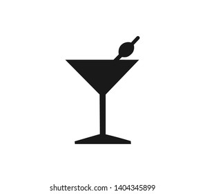 Cocktail icon. Logo element illustration. Cocktail symbol design from collection. Simple Cocktail concept. Can be used in web and mobile