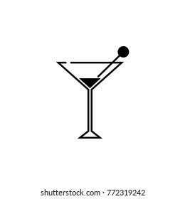 cocktail icon. Night club icon. Element of place of entertainment icon. Premium quality graphic design. Signs, outline symbols collection icon for websites, web design, mobile app