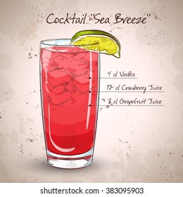 Cocktail Sea Breeze
