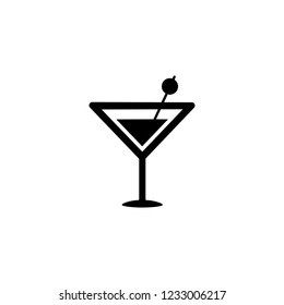Cocktail simple icon