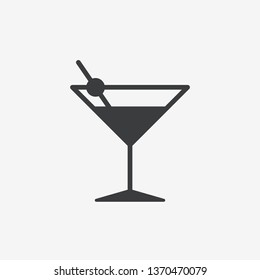 Cocktail Vector Icon