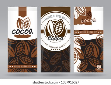 Cocoa packaging set