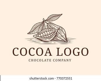 Cocoa vintage logo