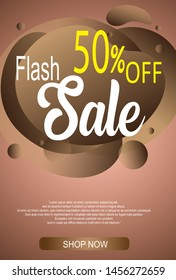 cocolate modern fluid mobile for flash sale banners. Sale banner template design, Flash sale special offer