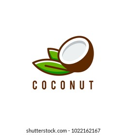 coconut Logo template