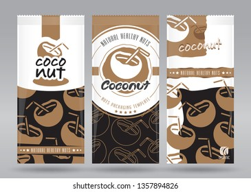 Coconut packaging set