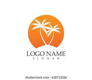 coconut tree logos
