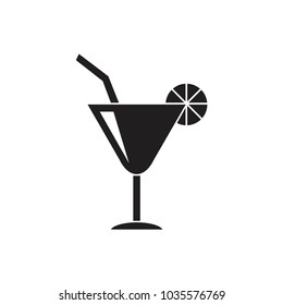 Coctail vector sketch