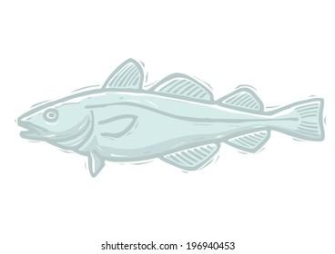 Cod woodcut