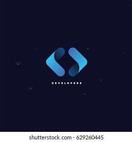Code Logo / Coder Company Logo