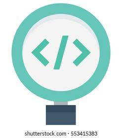 Code Review Vector Icon