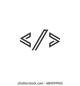 Coding Logo Template