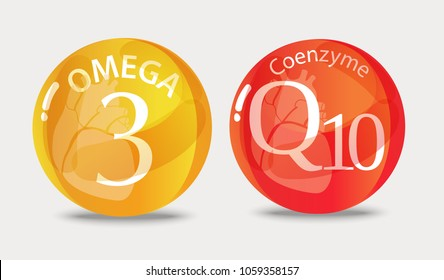 Coenzyme q10, Omega 3. A substance for maintaining cardiac activity. Basics of a healthy lifestyle.