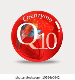 Coenzyme q10. Substance for maintaining cardiac activity. Basics of a healthy lifestyle.