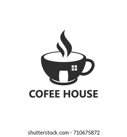 Cofee House Logo Template Design