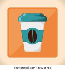 Coffe icon design
