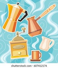 Coffe vector illustration