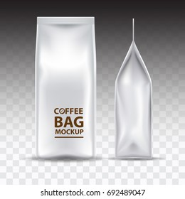 Coffee Bag Mockup Packaging Isolated