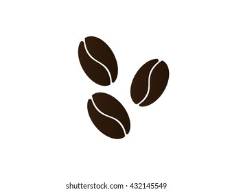 Coffee beans symbol.