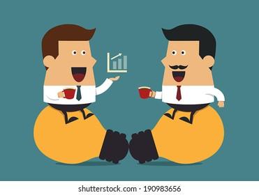 Coffee break, Business idea