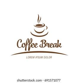Coffee break logotype design