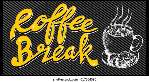coffee break, poster