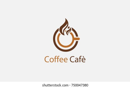 coffee cafe logo