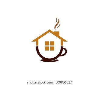 Coffee Cafe Logo Design Template