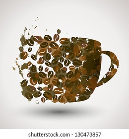 coffee cup. coffee concept. cup concept.
