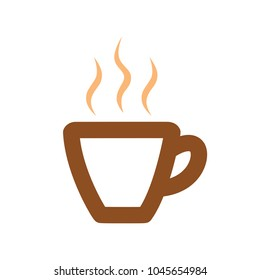 coffee cup icon, coffee mug, hot drink espresso
