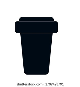 Coffee Cup Icon Vector Logo Template