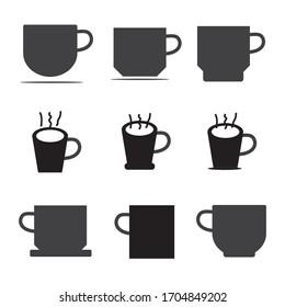 Coffee cup icon vector. Symbol for your web site design, logo, app, UI. Vector illustration,